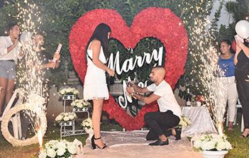 הצעת נישואין בבית